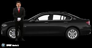 BMW seria 5 negru pentru nunta ta de vis